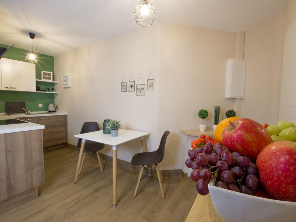 Appartement de 50 m² à 2 chambres