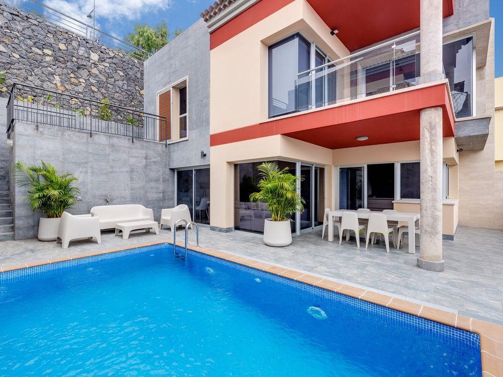 Residencia de 3 habitaciones en Santa úrsula tenerife