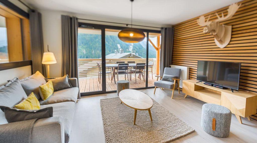 Appartement à 3 chambres avec jardin