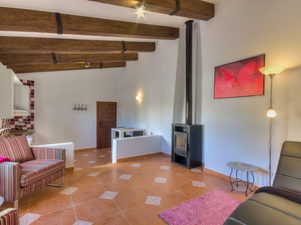 Apartamento para 2 huéspedes con jardín