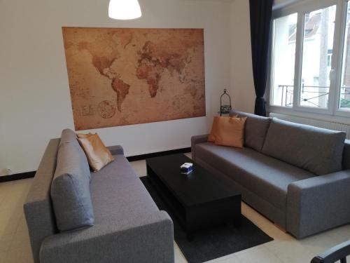 Hébergement à Saint-laurent-blangy de 1 chambre