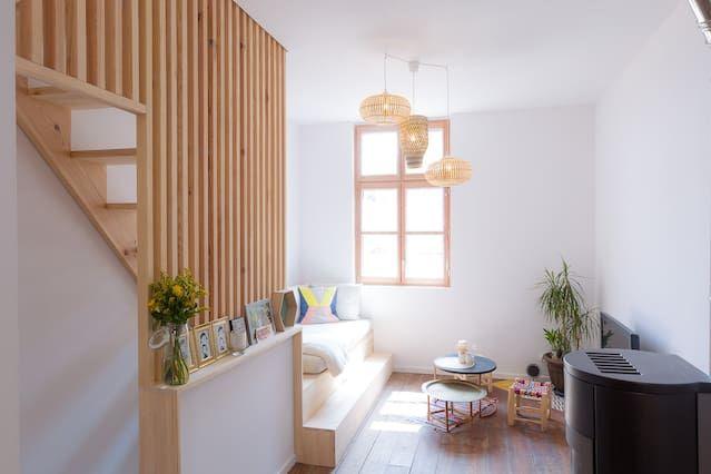Equipada residencia en Biarritz
