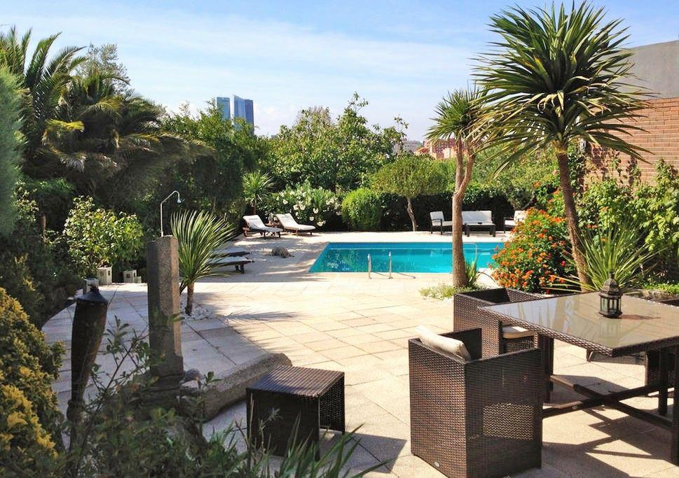 Casa vacacional con piscina Madrid