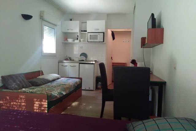Appartement fonctionnel avec 1 chambre