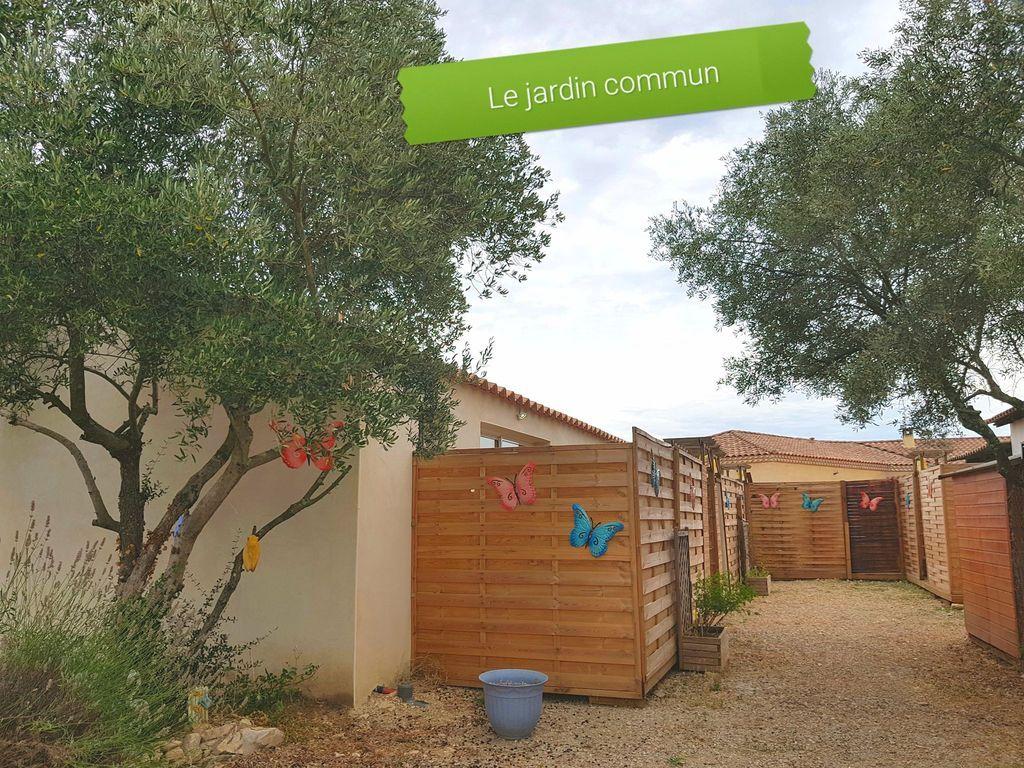 Alojamiento para 2 personas en Uchaud