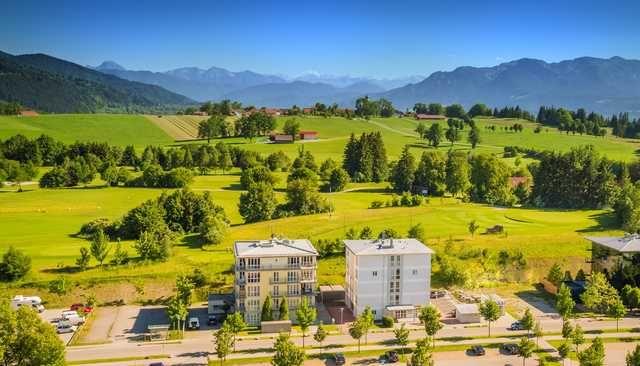 Residencia con balcón en Bad tölz