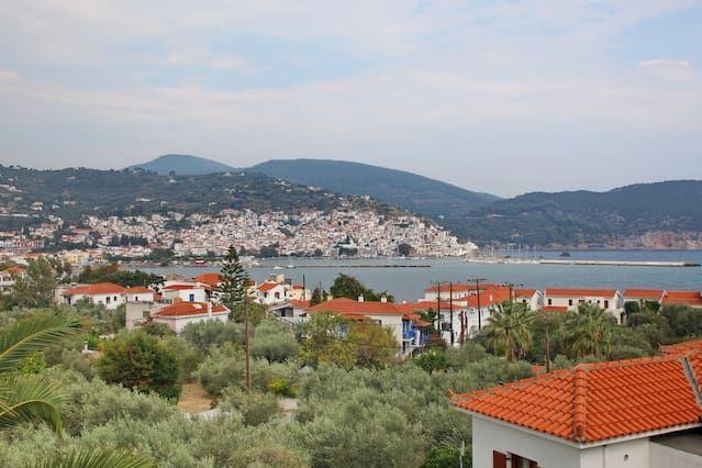 Funcional vivienda en Skopelos, thessalia