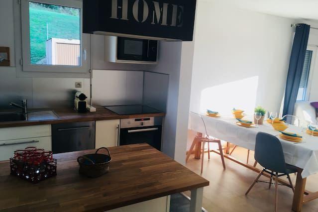 Alojamiento panorámico de 60 m²