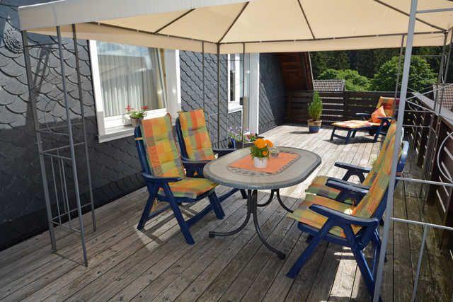 Residencia para 4 huéspedes con jardín