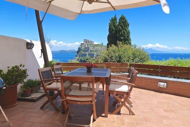 Provista casa en Ischia