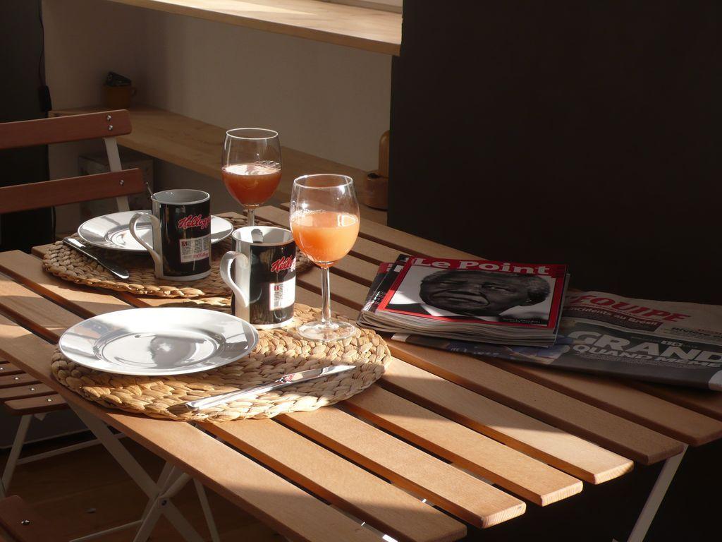 Hogareño apartamento para 3 personas en Lyon