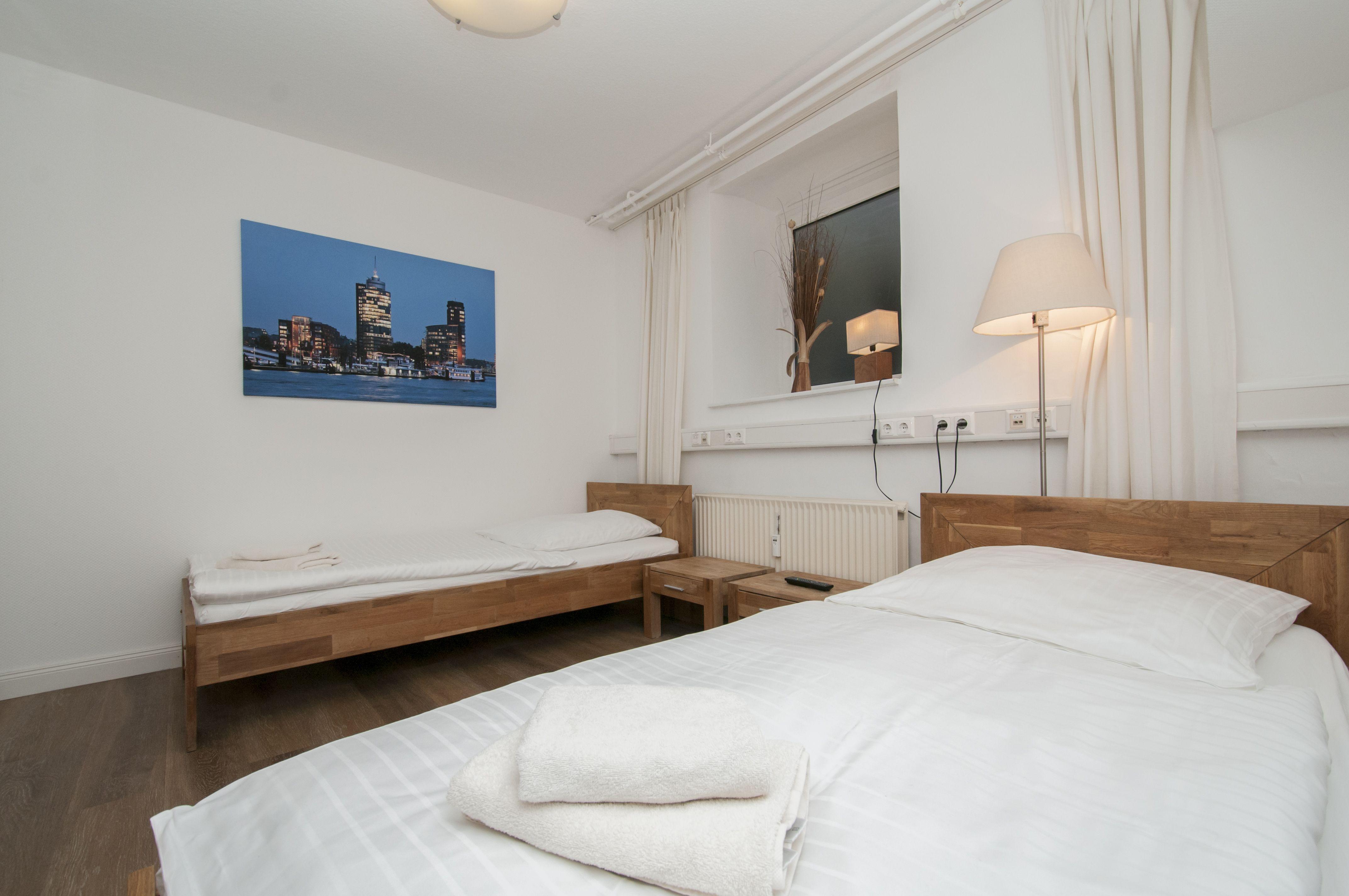 Apartamento con Sábanas y toallas y Internet en Hamburgo