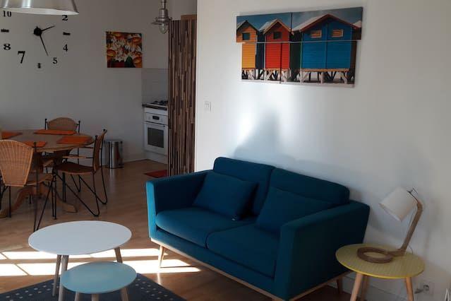 Apartamento en Luc sur mer con parking incluído
