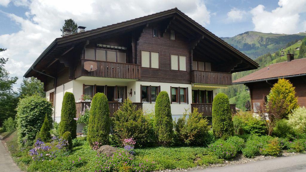 Apartamento con vistas en Lenk