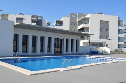 Ausgestattete Ferienwohnung mit pool