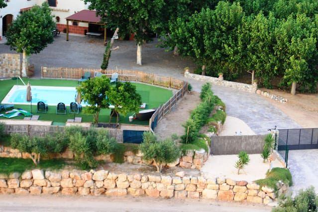 Vivienda de 140 m² con piscina