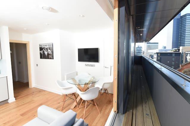 Apartamento en Manchester para 6 huéspedes