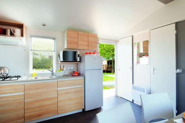 Acampar Arrouach *** - Cottage familiares 6 Personas 4 Habitaciones