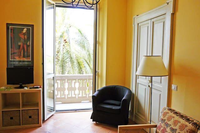 Appartamento pratico con giardino