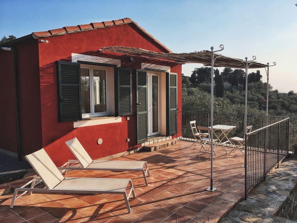 Apartamento de 45 m² con jardín