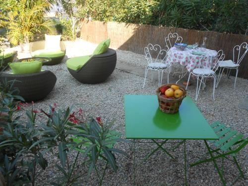 Résidence avec jardin