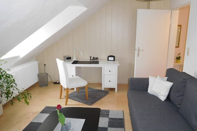 Ferienwohnung B&B Hanau - Kesselstadt möblierte 2- Zi Küche Bad Nähe Frankfurt