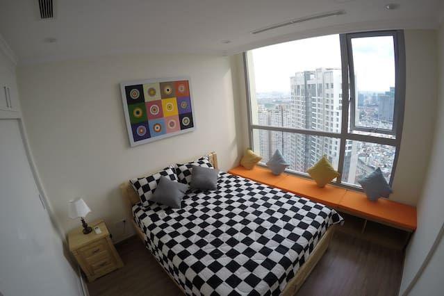 Panoramic apartment with 1 room