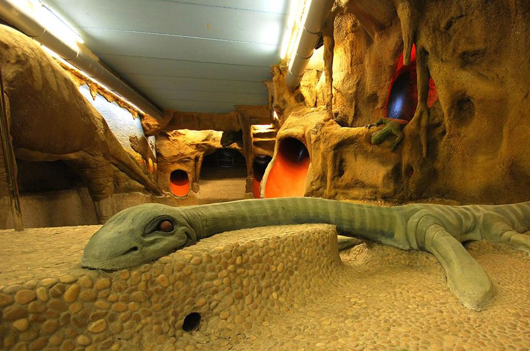 Dinosaurios en el Spa del Hotel Ciudad de Teruel