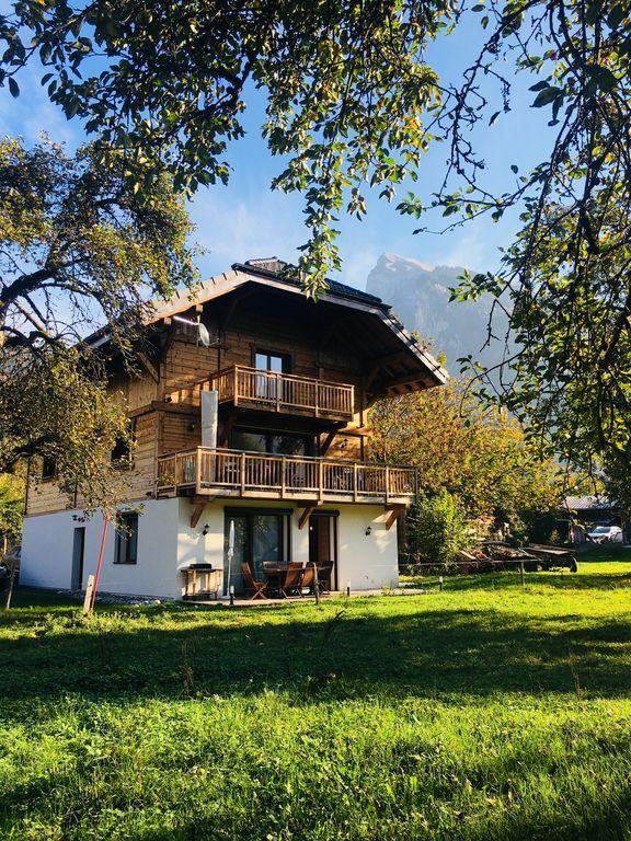 Práctico alojamiento en Samoëns