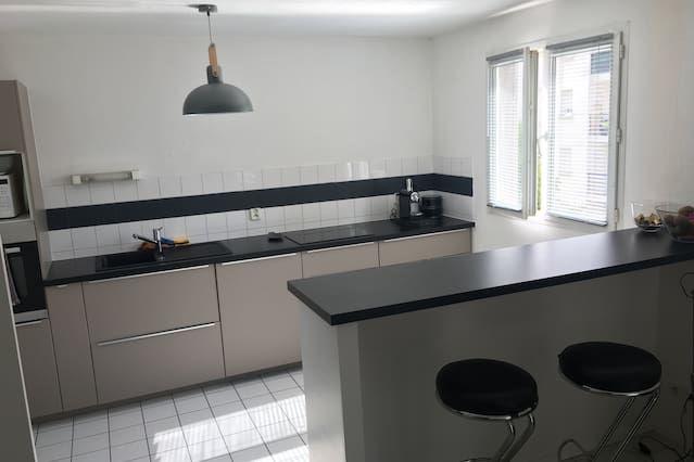 Panorámico alojamiento en Sotteville-lès-rouen