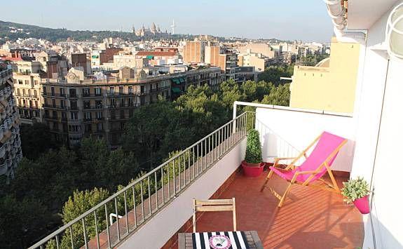 Piso con Sábanas y toallas y Calefacción en Barcelona