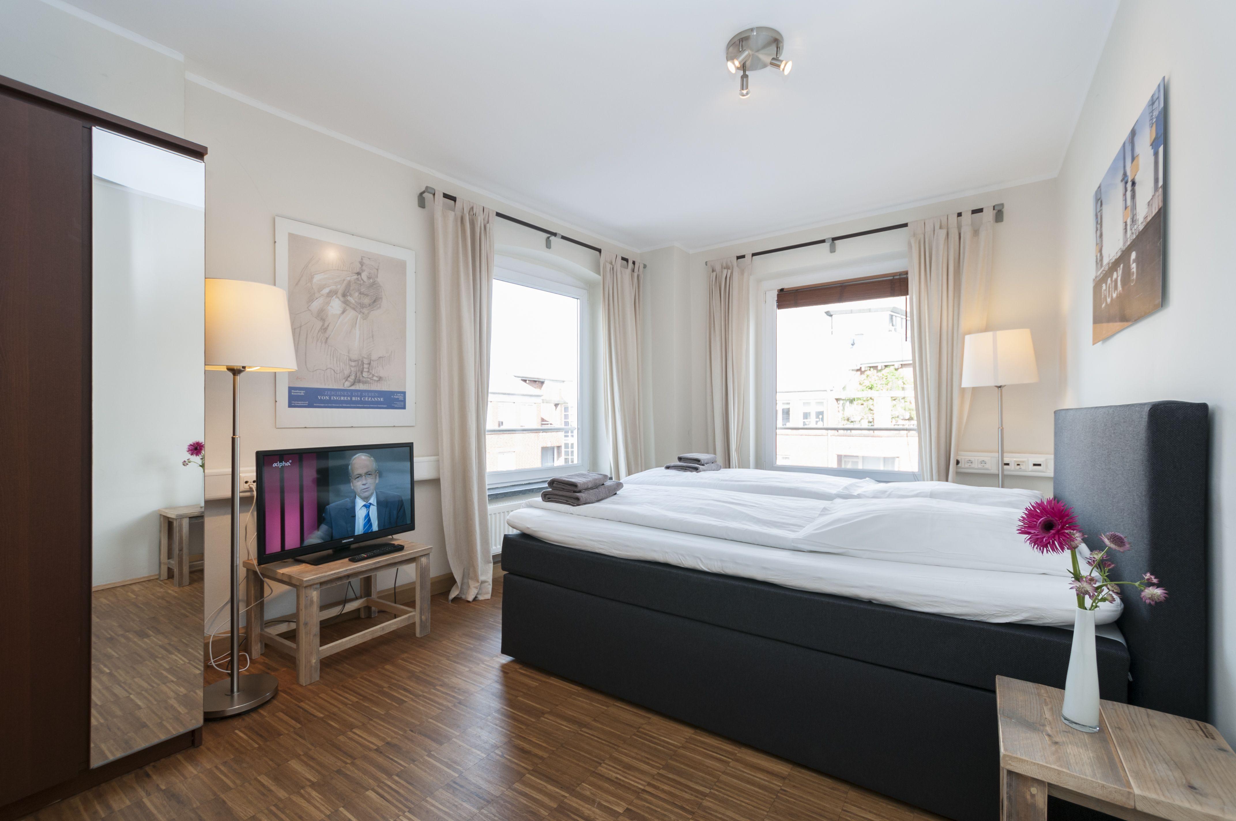 Original apartamento en Hamburgo de 3 habitaciones