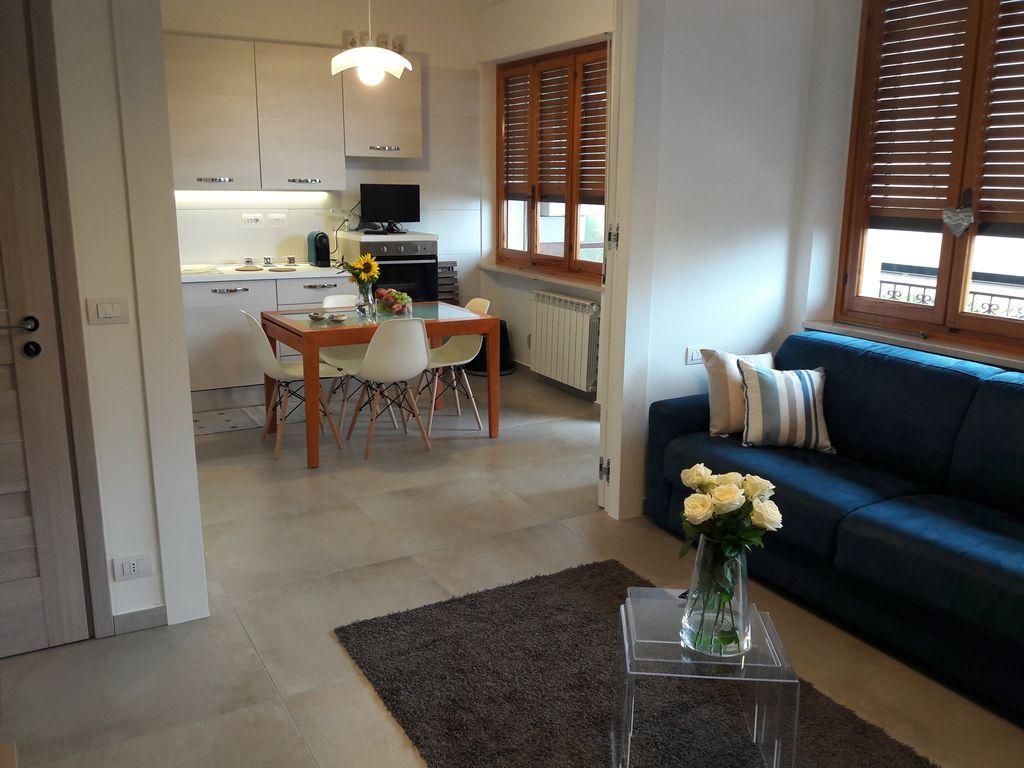 Alojamiento de 2 habitaciones en Laigueglia