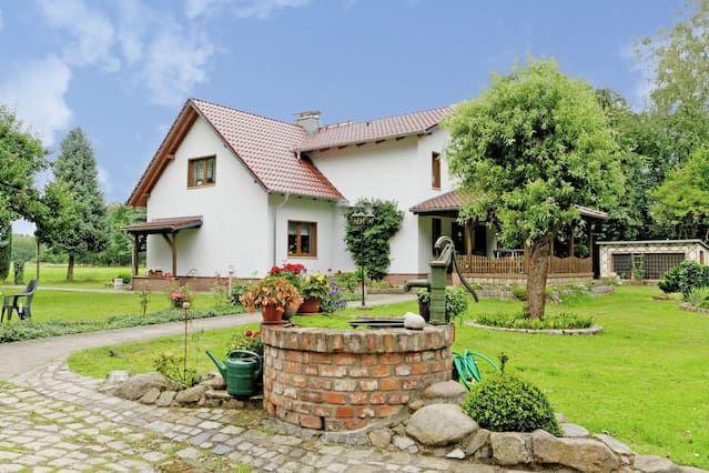 Ferienhaus mit inklusive Parkplatz in Schmogrow-fehrow