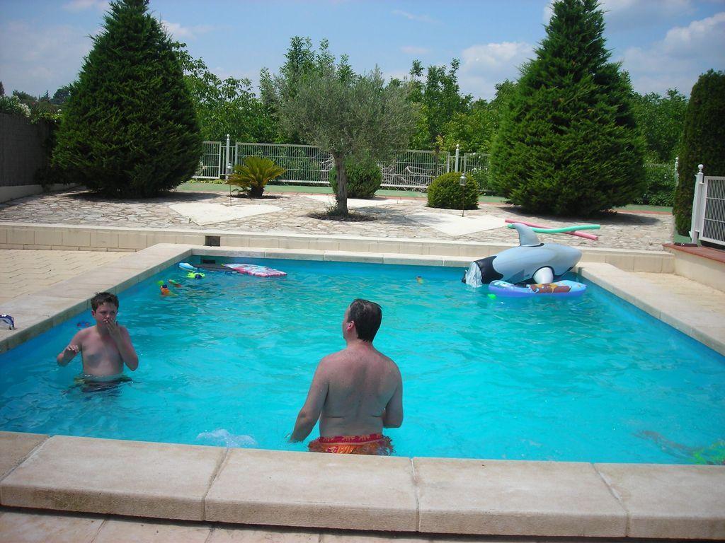 Apartamento maravilloso con piscina