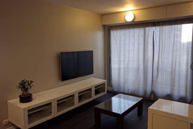 Hébergement de 1 chambre avec balcon