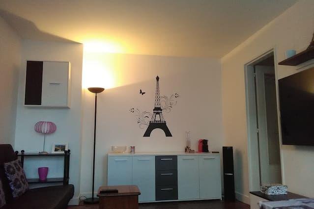 Appartement à 3 chambres avec wi-fi