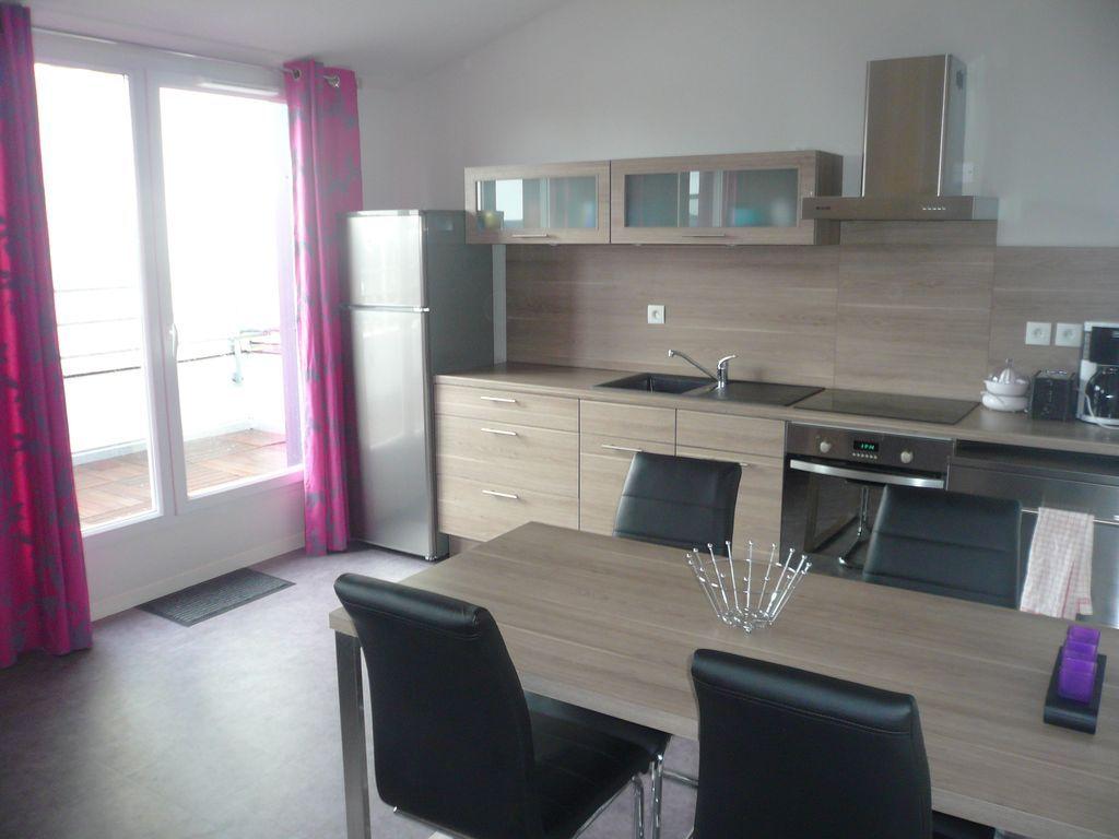 Attractif logement avec 2 chambres
