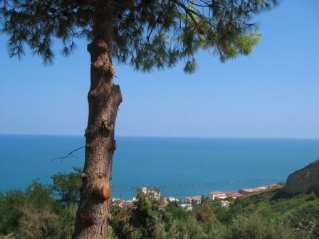 San Vito Chietino - Apartamento de playa con impresionantes vistas al mar