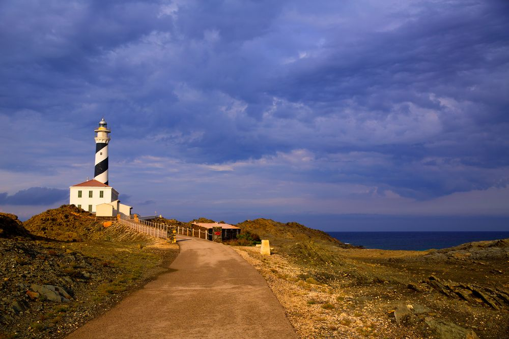 route des phares de Minorque