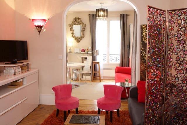 Charmant appartement Alcove Paris 17 éme