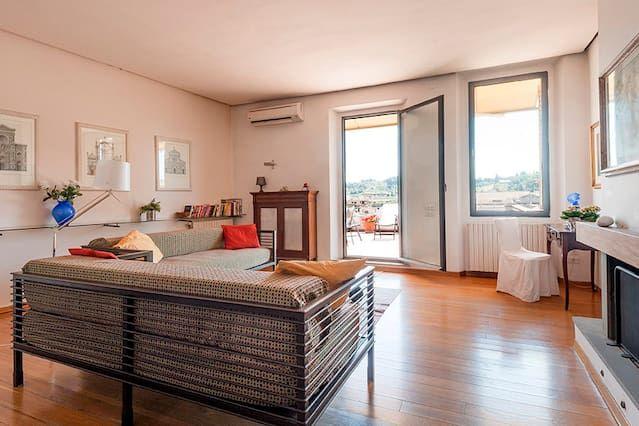 Komfortabele Wohnung mit Balkon