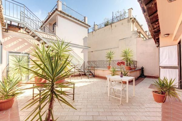 Penthouse, terraces stunning view Navona Wi-Fi A/C