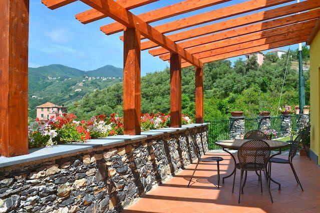 Villa Limoni Terrace Sea View Garden 5 Terre