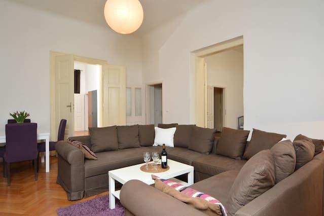 Spacious Apartment Wenceslas Sq