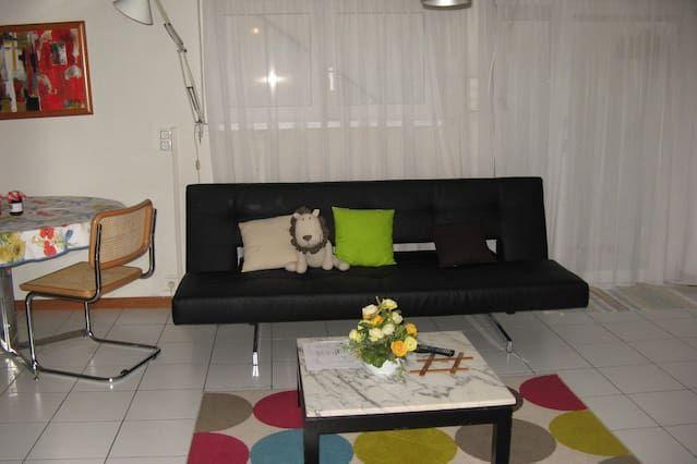 Habitación atractiva