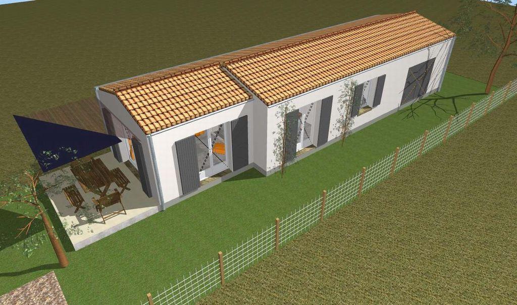 Alojamiento de 62 m² con jardín
