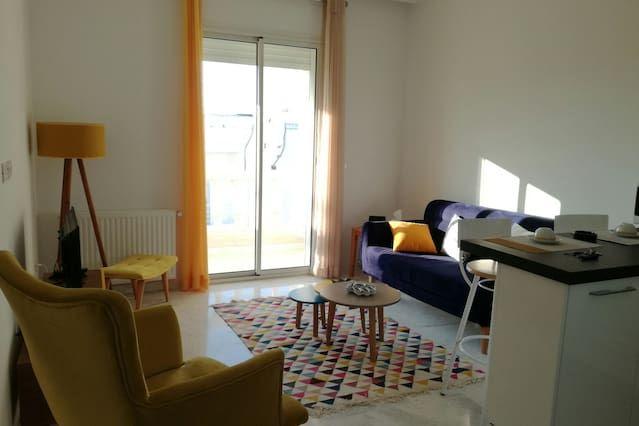 Appartement à La marsa avec wi-fi