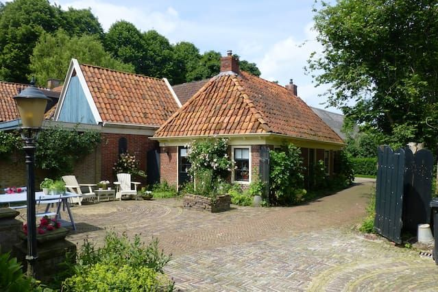 Romantic house at countryside