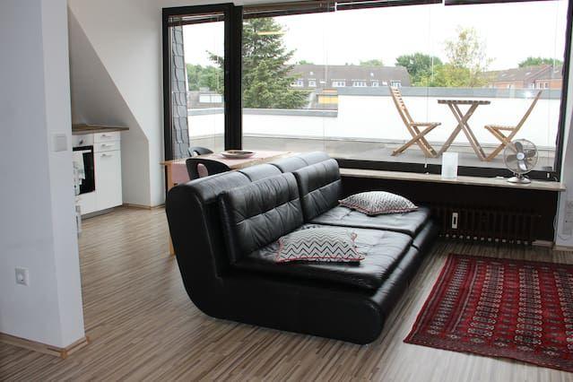 Piso de 2 habitaciones en Düsseldorf